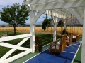 white-pergola-with-fence