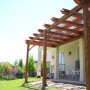 Coffered Pergola with Dovetail 3