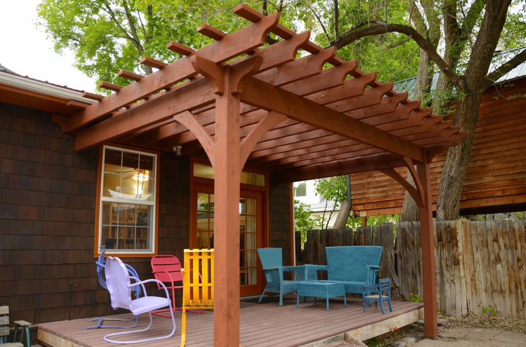 Build an Amazing DIY Pergola with Notched Kit | Easy to ...