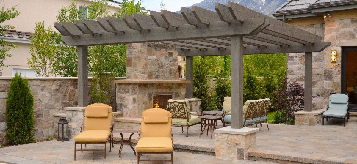 Eh pergolas custom shade structures at incredible prices for Rustic gazebo kits