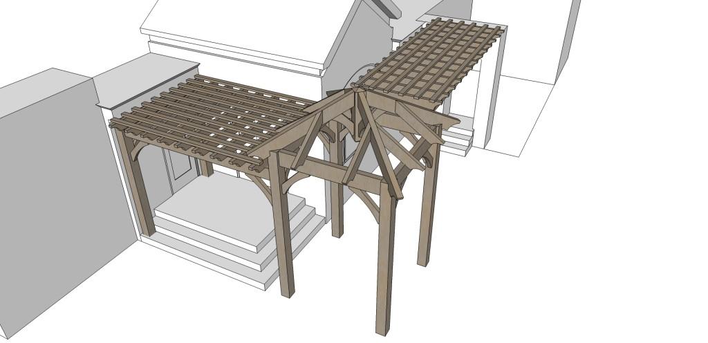 Outdoor structure design